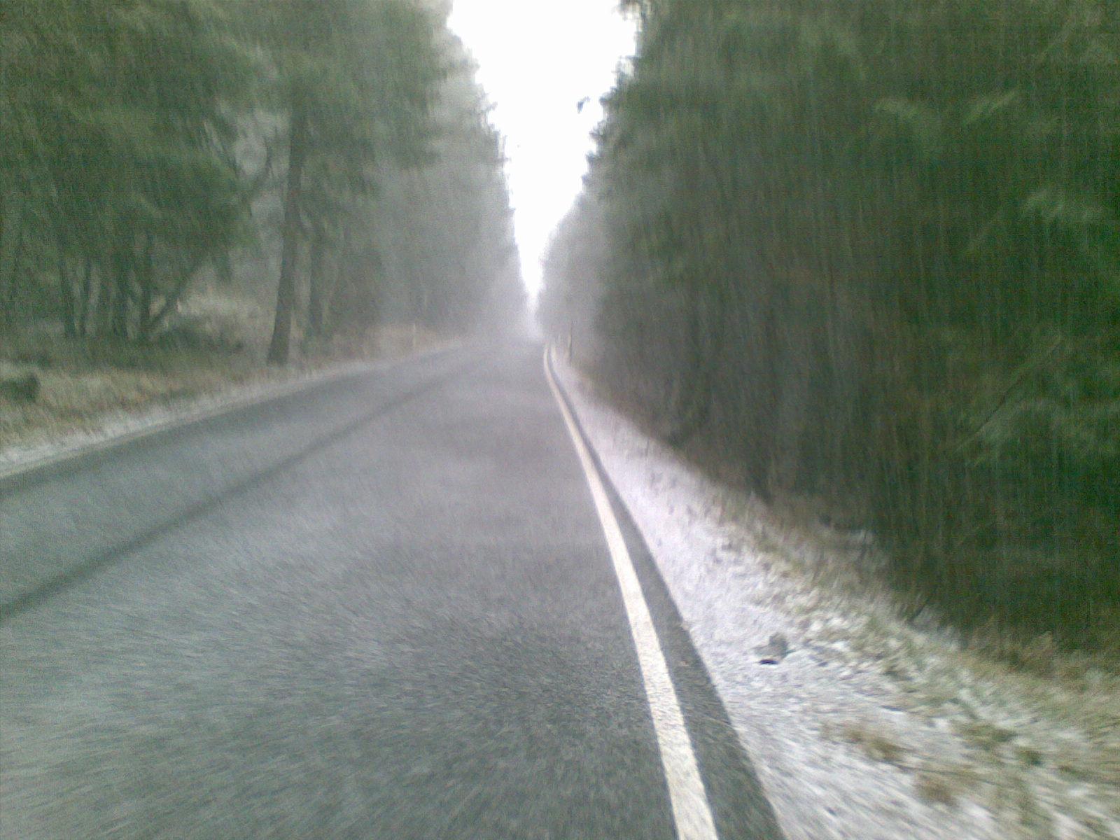 Schneeregen....